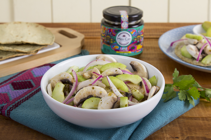 Mushroom Aguachile Recipe